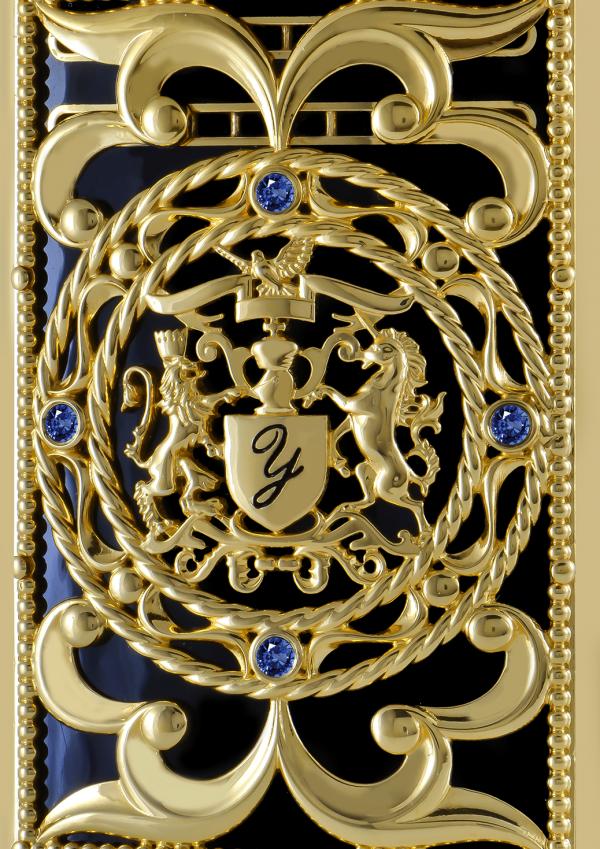Briquet Sapphire Gold Edition Limitée 18K